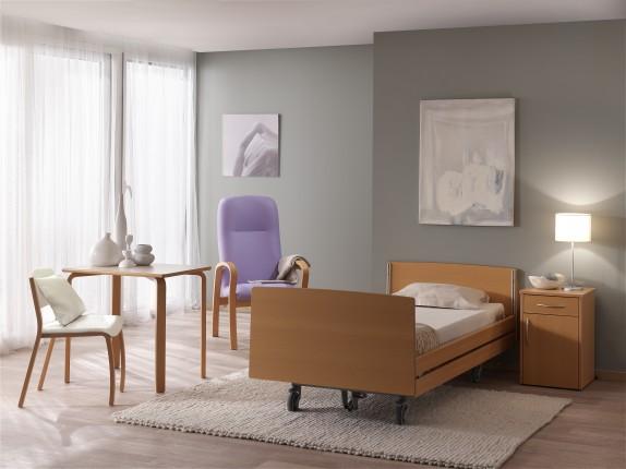 Haelvoet mobilier hospitalier maisons de repos cabinet - Lit electrique relevable en hauteur ...